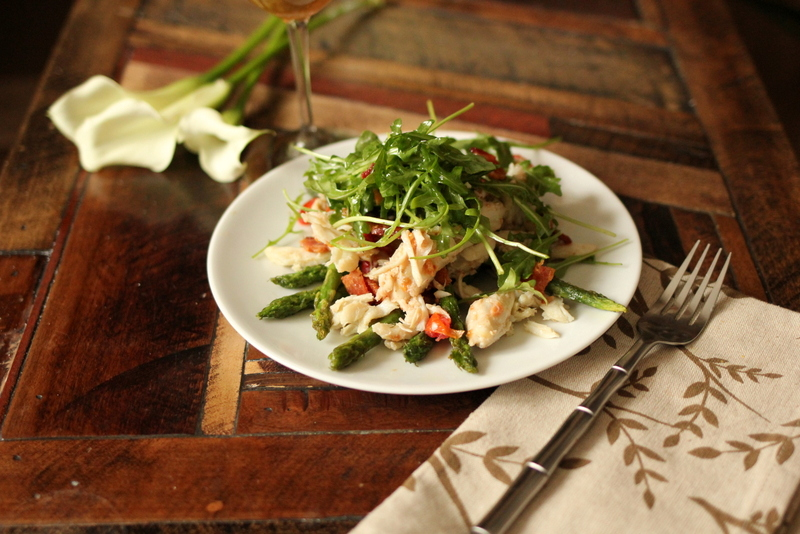 Asparagus and Crab Salad