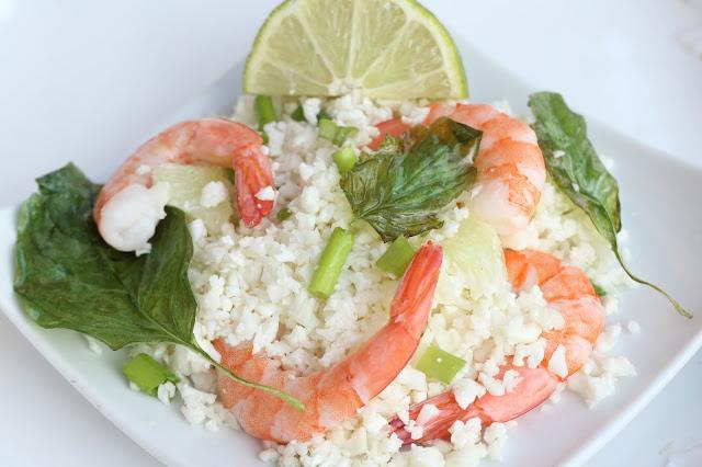 Shrimp with Lemon Rice