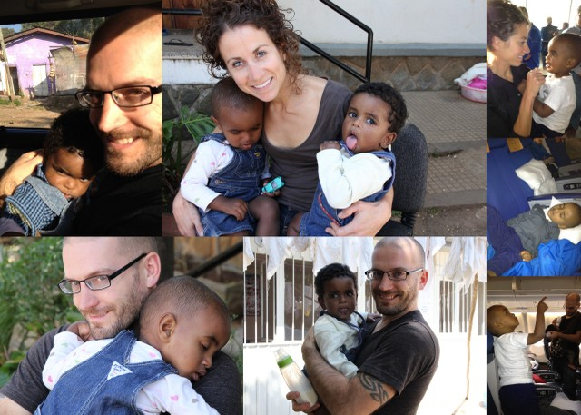 Adoption: first video of our family