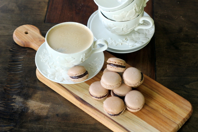 ... Body Health   low carb macaroons, Chocolate Raspberry French Macaroons