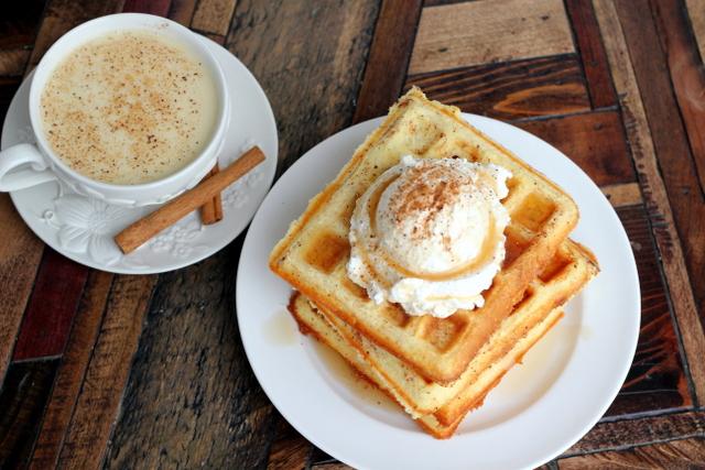 coconut flour waffle
