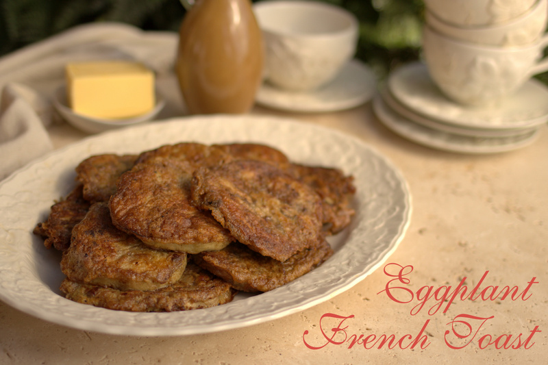 eggplant french toast