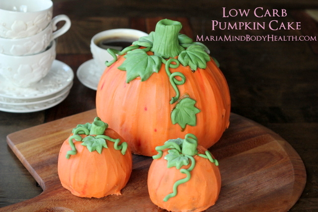 Low Carb Pumpkin Cake