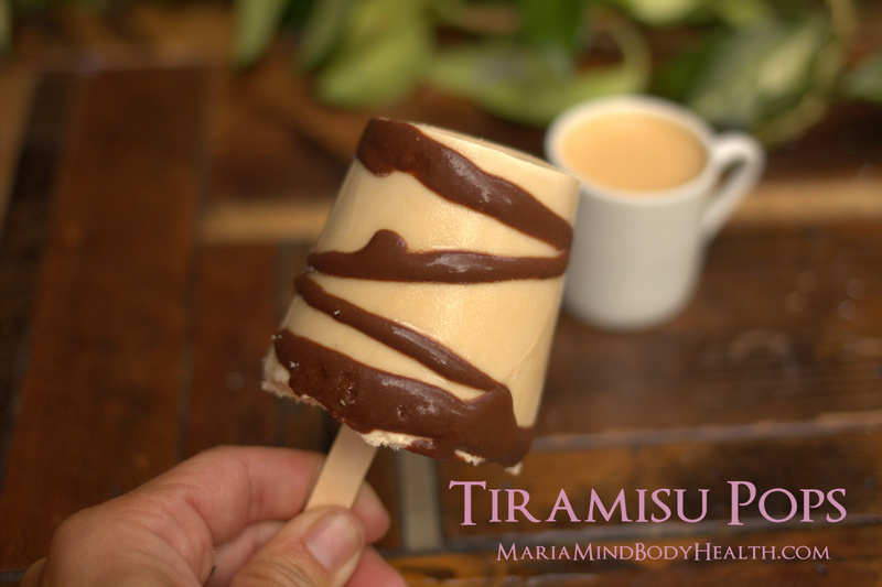 Tiramisu Popsicle