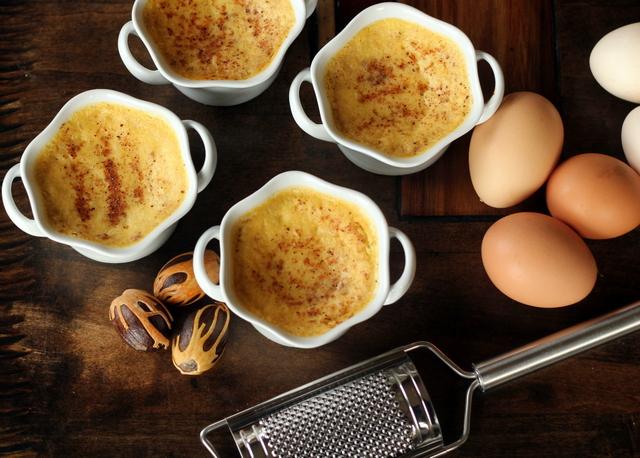 Egg Nog Creme Brulee