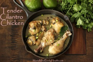 Tender Cilantro Chicken