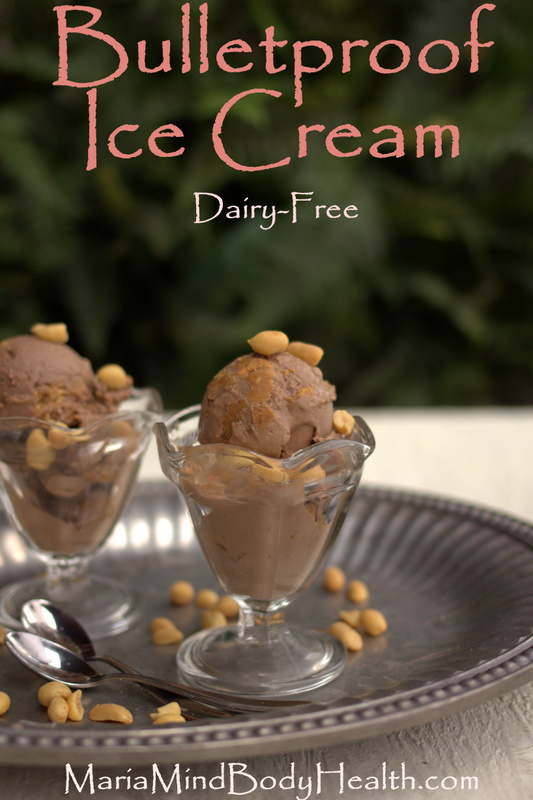 Dairy Free Bulletproof Ice Cream