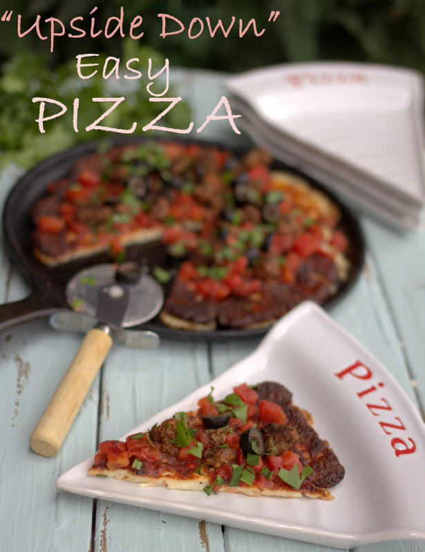 Easy Low Carb Pizza