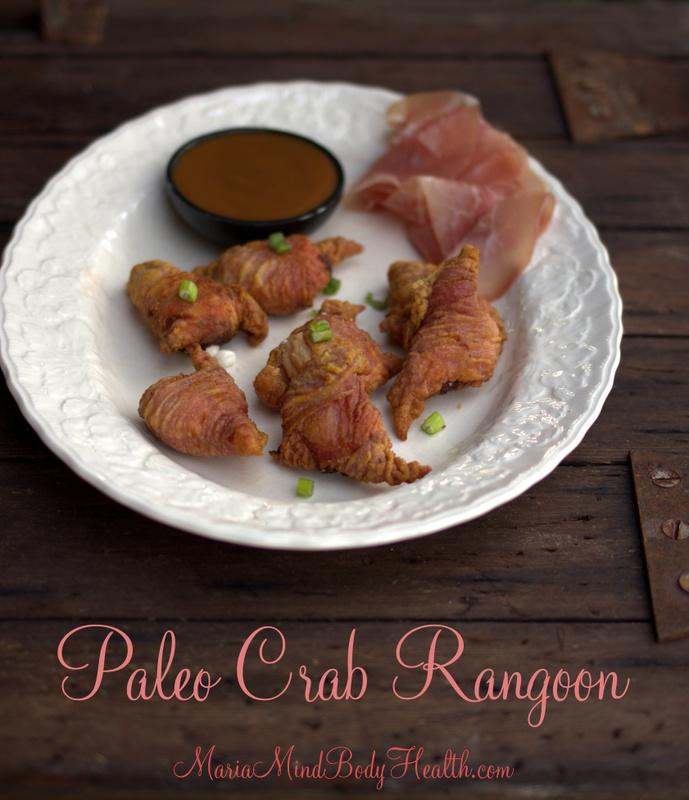 Paleo Crab Rangoon