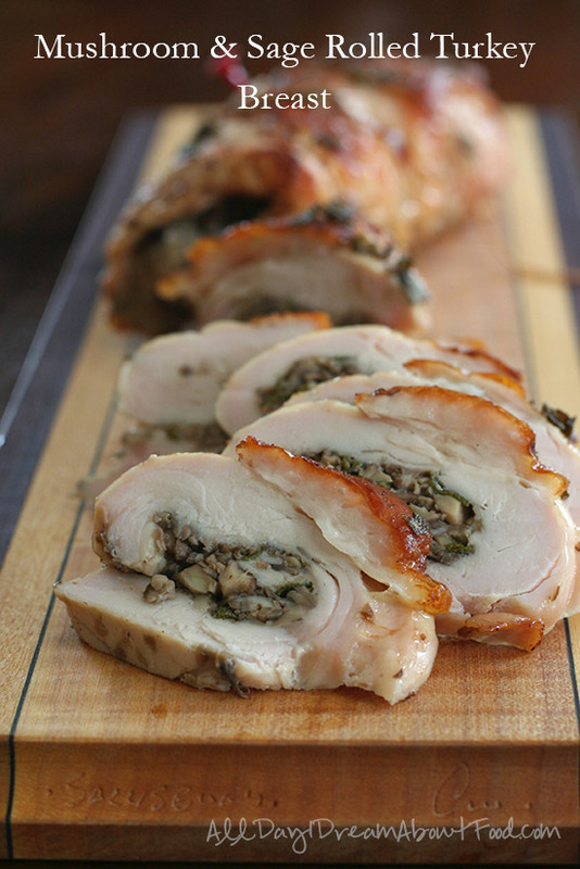 Rolled stuffed turkey breast recipe