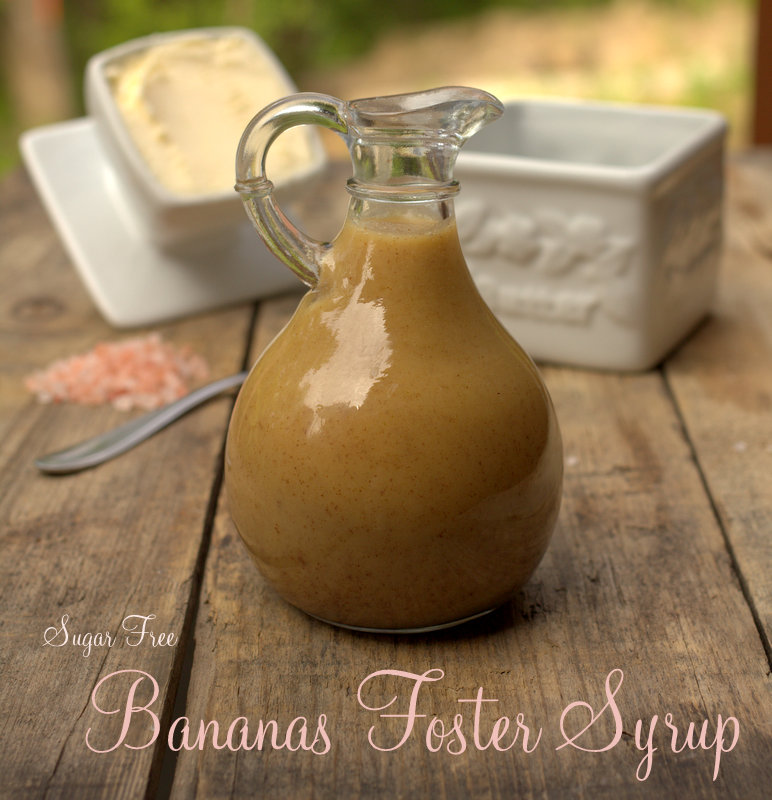 Bananas Foster Syrup