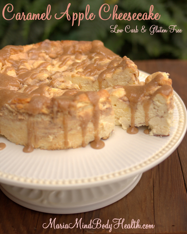 Caramel Apple Cheesecake