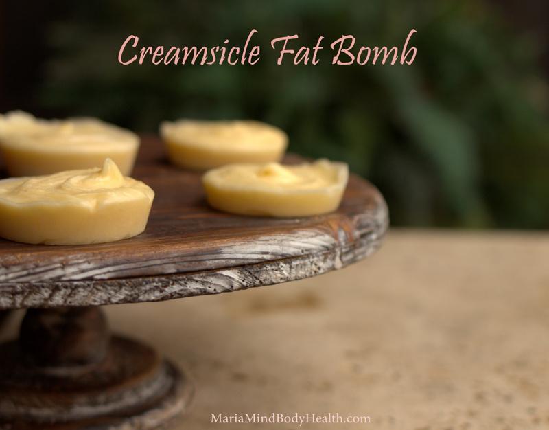 Creamsicle KetoOS Fat Bomb - Maria Mind Body Health