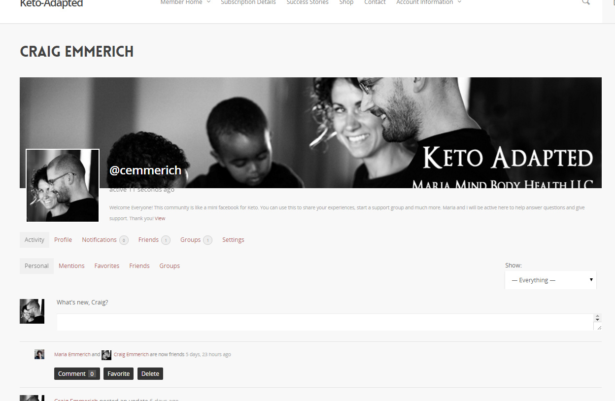 Maria's Keto Support Network