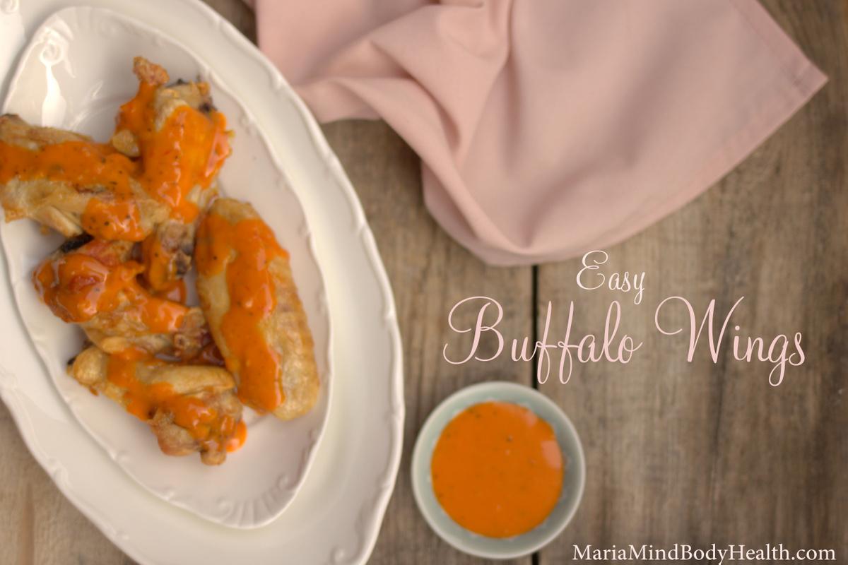 Buffalo wing recipe