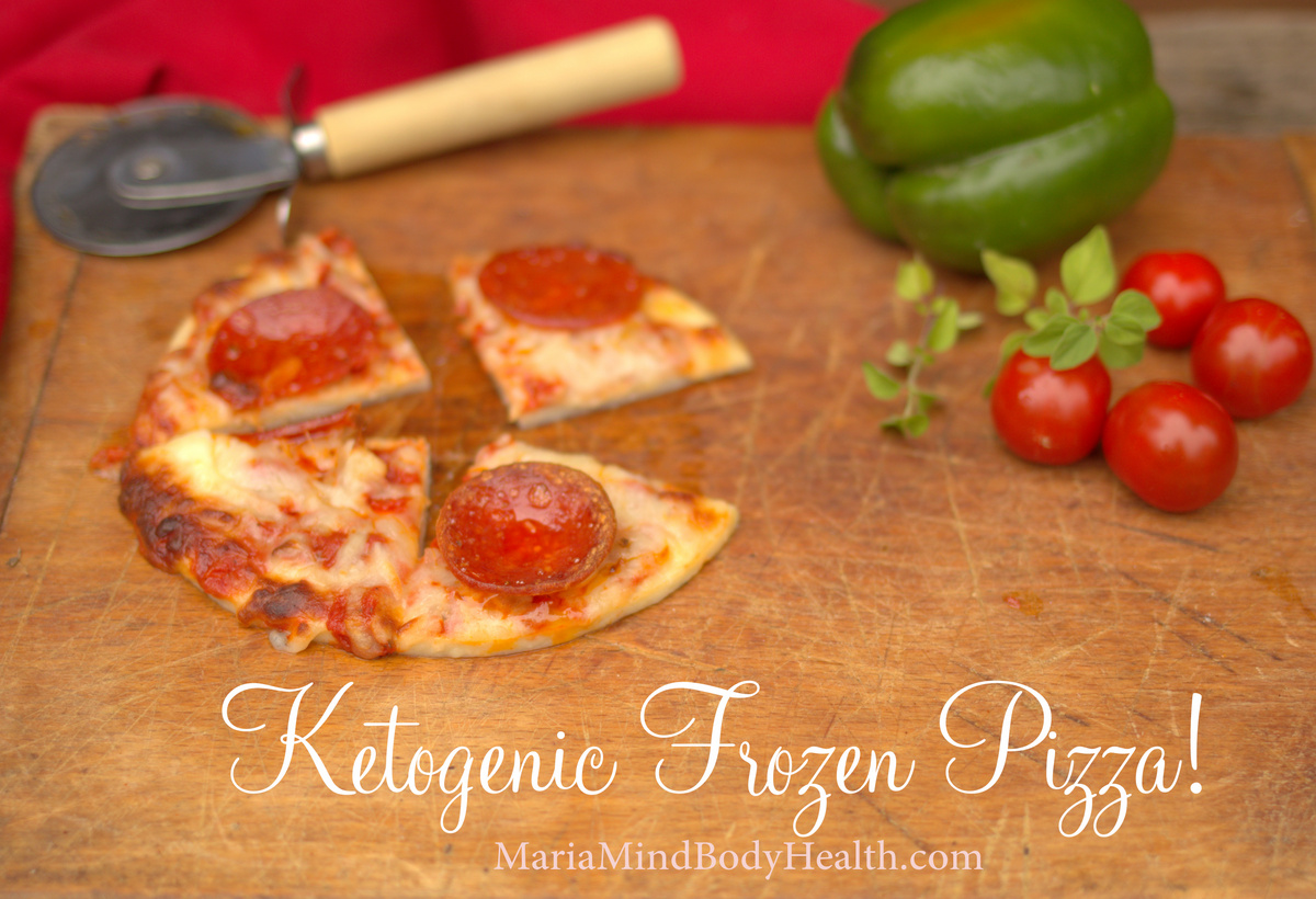 Low Carb Frozen Pizza
