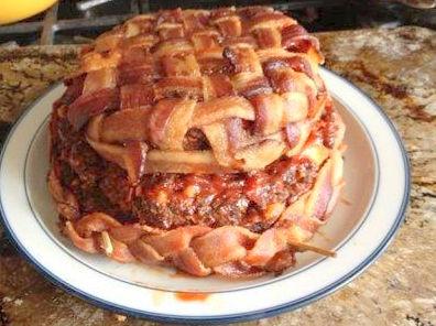 bacon-cake
