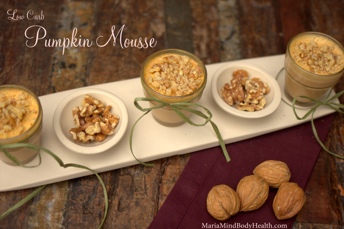 Low Carb Pumpkin Mousse