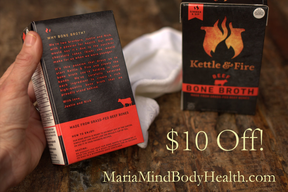 Kettle and Fire Bone Broth Discount!