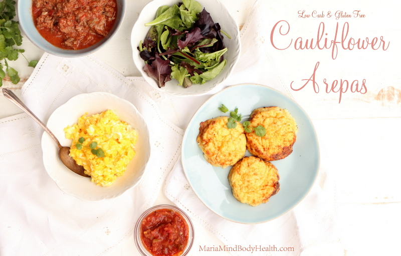 Cauliflower Arepas