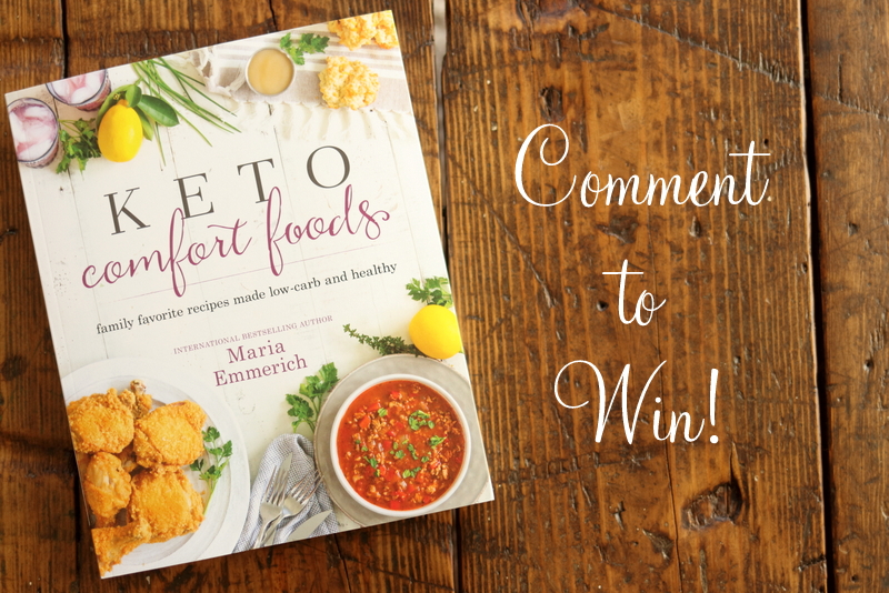 Enter To Win Keto Comfort Foods Maria Mind Body Health