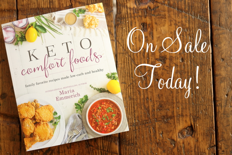 Keto Comfort Foods Releases Today