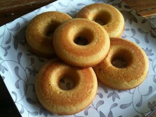Coconut Flour Cake Donuts