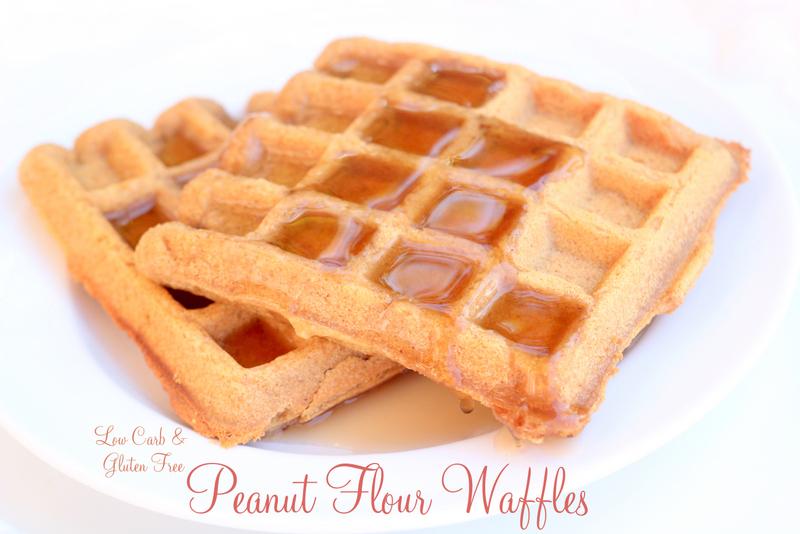 Peanut Flour Waffles
