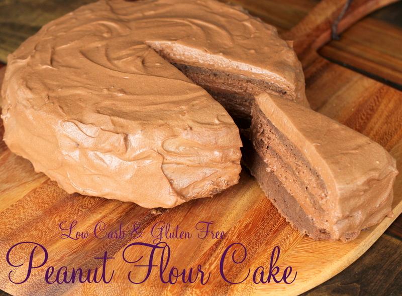 Peanut Flour Cake