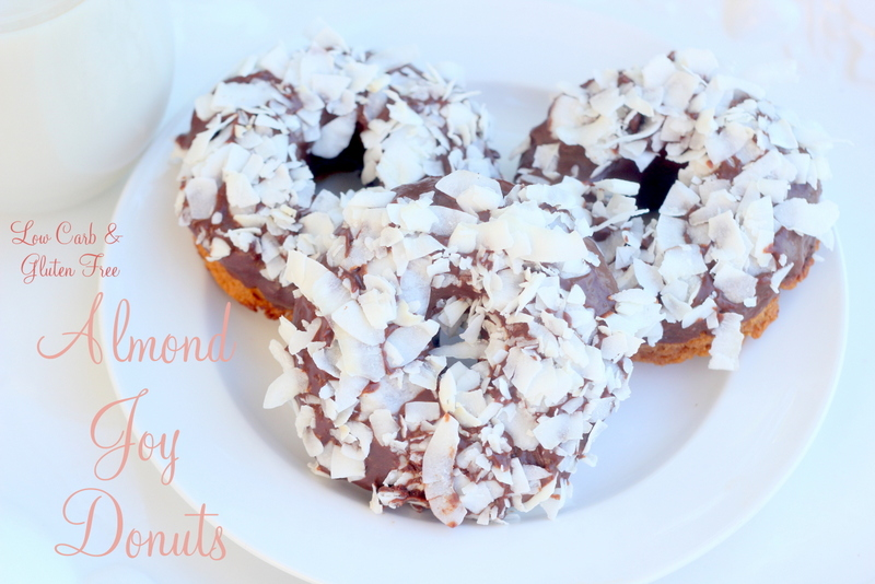 almond joy donut