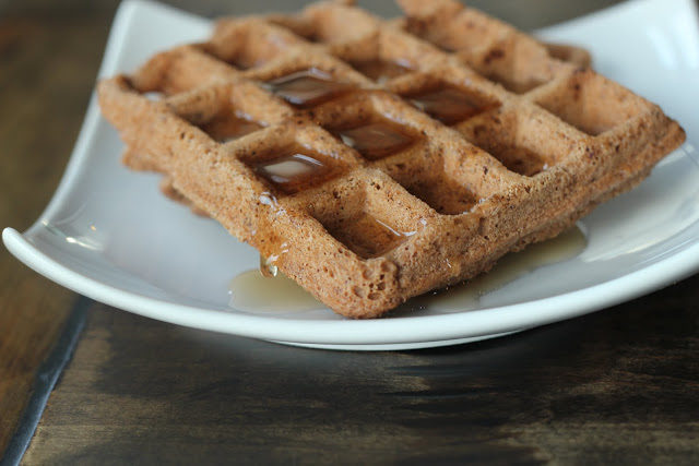 Nutella Protein Waffles