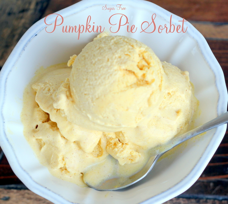 Pumpkin Pie Sorbet