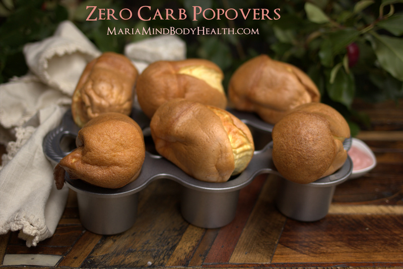 low carb popovers
