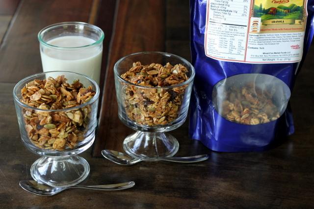 Banana Walnut Cereal