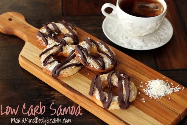 low carb samoa cookies