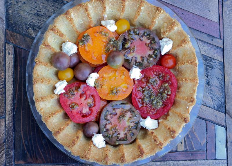 Low Carb Tomato Pie