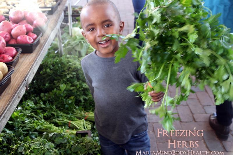 Freezing vs. Dehydrating Herbs