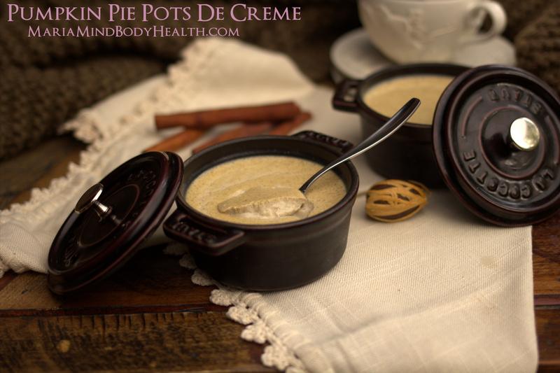 Pumpkin Pie Pots De Creme