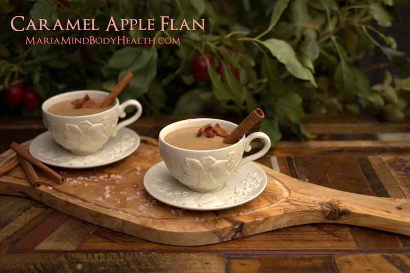 Caramel Apple Flan