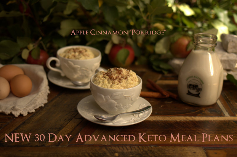 NEW 30 Day Advanced Keto Meal Plans