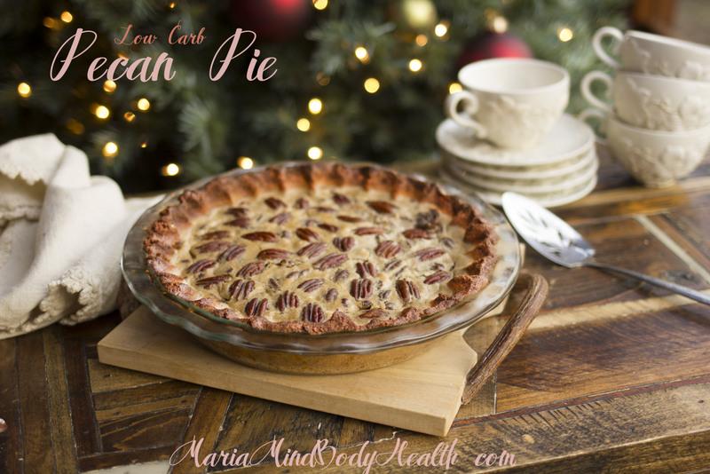Low Carb Pecan Pie