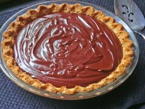 Chocolate Pie by Judy Barnes Baker