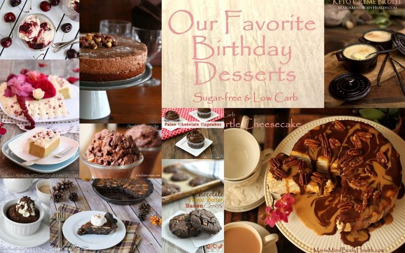 Birthday Dessert Round-Up