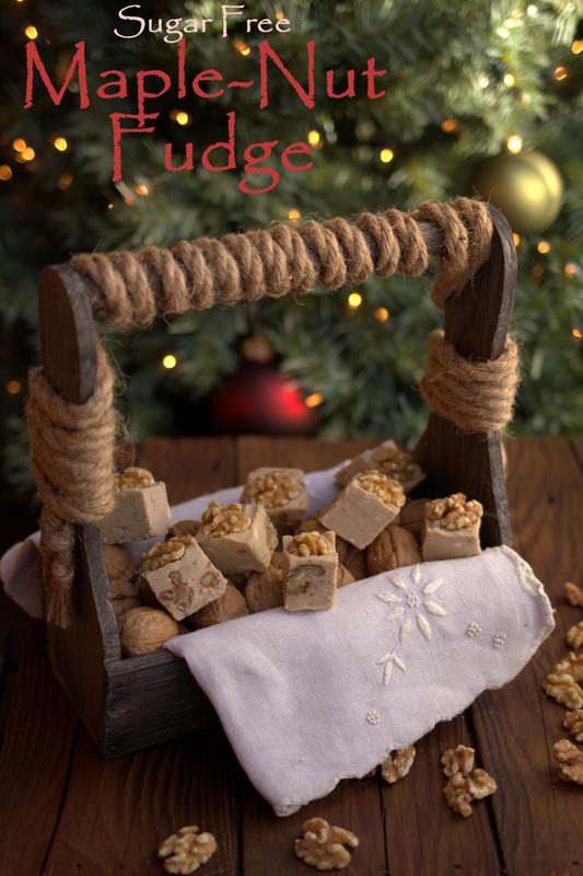 Sugar Free Maple Nut Fudge