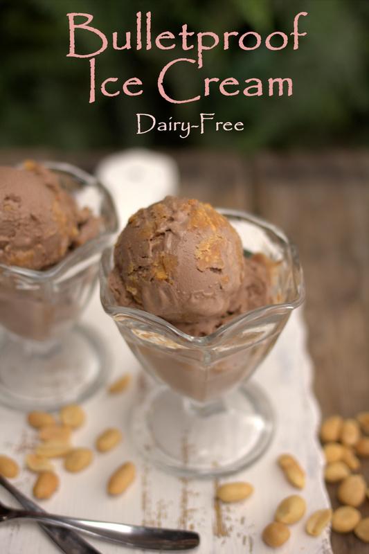 Dairy Free Bulletproof Ice Cream