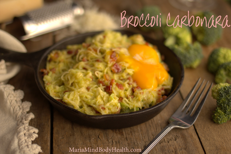 Broccoli Noodle Carbonara
