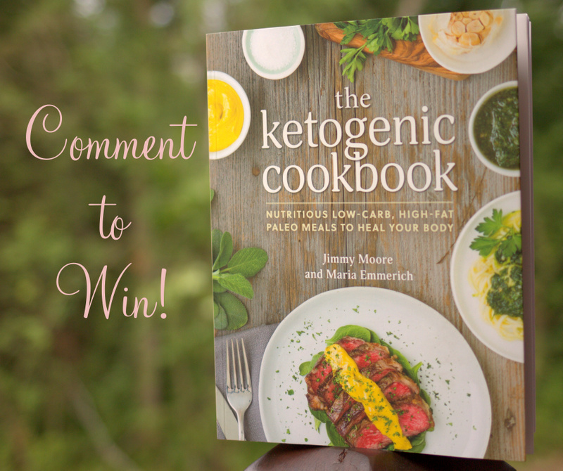 The Ketogenic Cookbook Giveaway