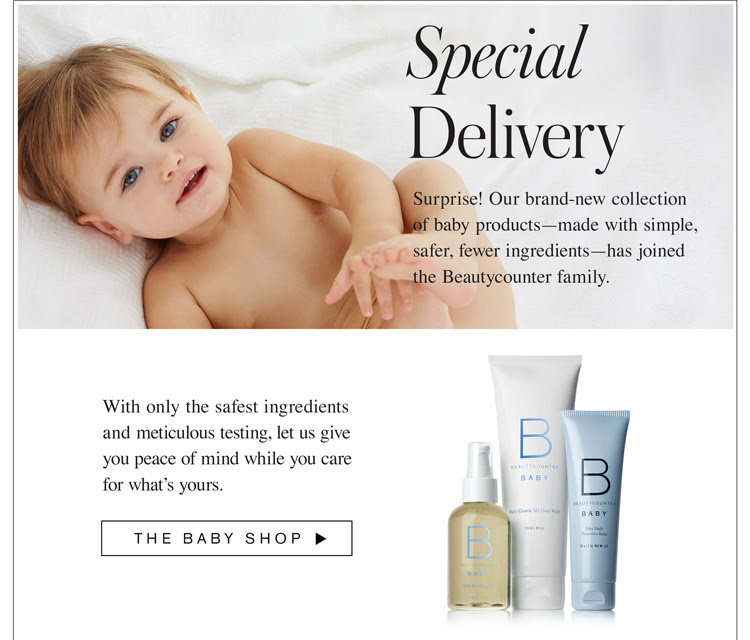 BeautyCounter Baby Line Giveaway and Canada Availability