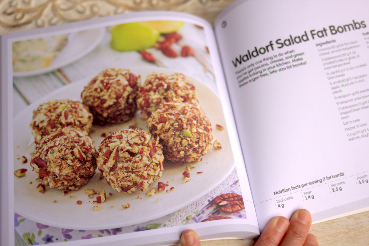 Sweet Savory Fat Bombs Cookbook