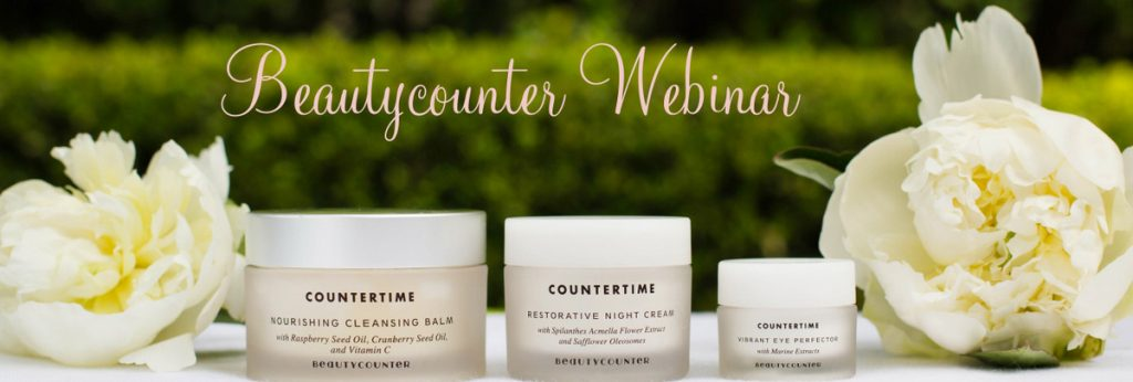 Free Beautycounter Webinar